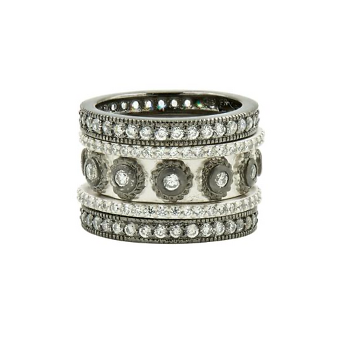 Eternity 5-Stack Ring