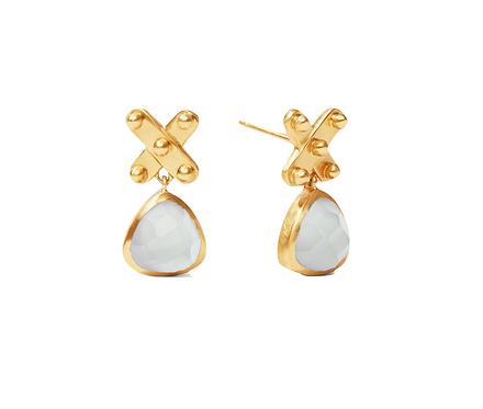 Julie Vos SoHo Midi X Earrings
