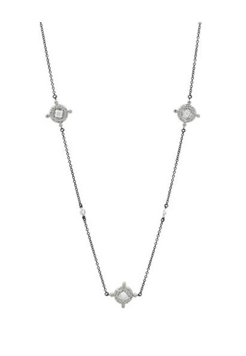 Freida Rothman Crown Station Necklace
