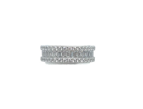 Sterling Eternity Band