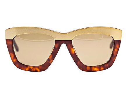 Freida Rothman Tortoise Sunglasses