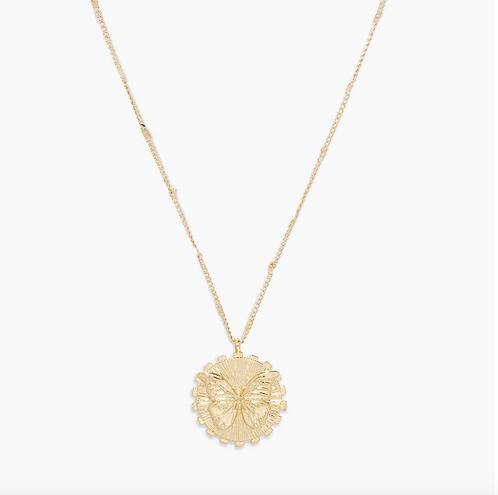 Gorjana Butterfly Totem Necklace