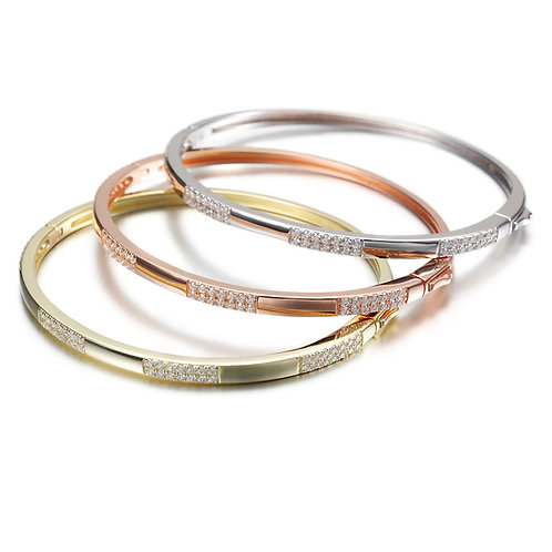 Stackable Sterling Bangles