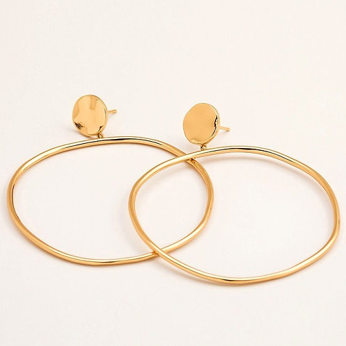 Chloe Drop Hoops