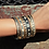 Thumbnail: Freida Rothman Mini stud bezel stone eternity Hinge bangle