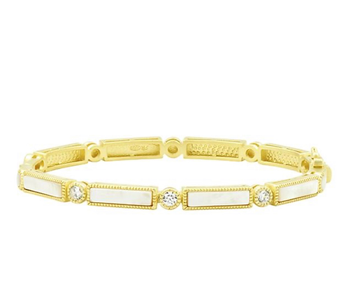 Freida Rothman Baguette Bar Bangle