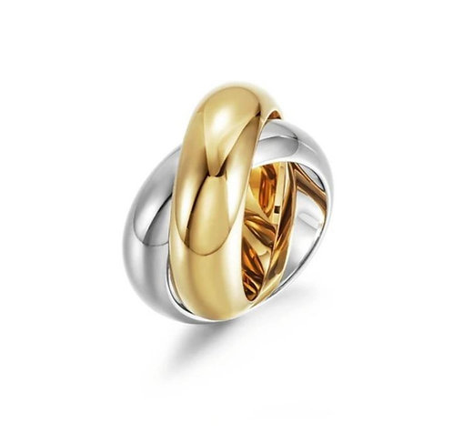 Two ToneTwist Ring