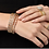 Thumbnail: Freida Rothman Fleur Bloom Thin Hinge Bangle