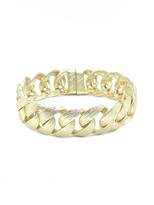 Magnetic Gold Cable Bracelet