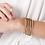 Thumbnail: Freida Rothman Signature Thin Pave Hinge Bangle