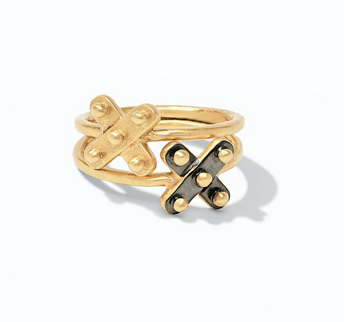 Julie Vos Soho X Stacking Ring