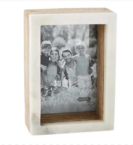 Wood Marble Shadow Frame 5x7