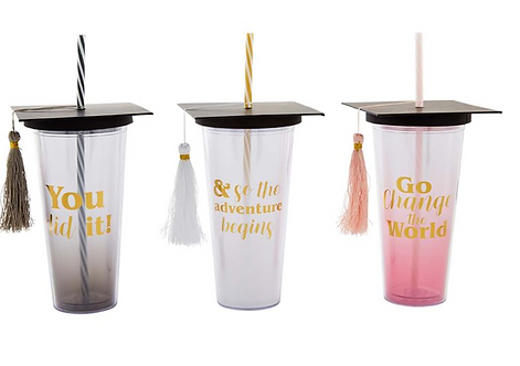 Mudpie Graduation Cups