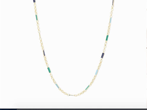 Gorjana Amalfi Teal Mix Necklace