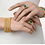 Thumbnail: Freida Rothman Harmony 3 Stack Bangle