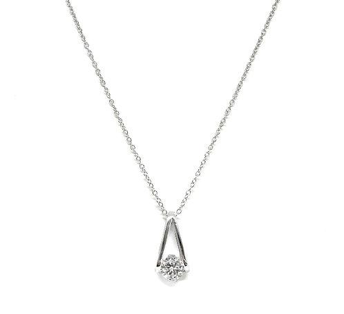 Hanging Diamond Necklace