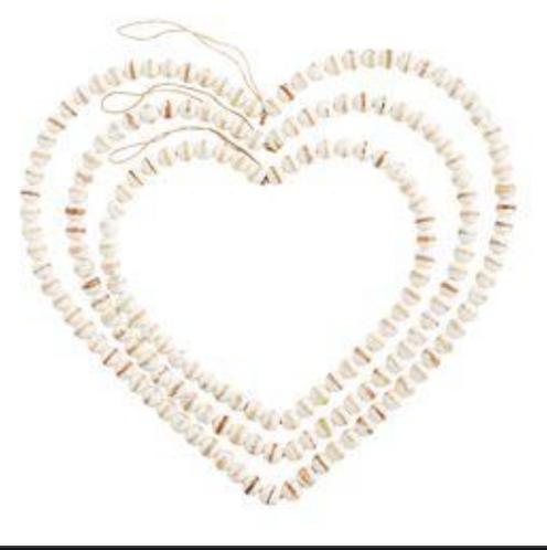 Beaded Heart Hangers