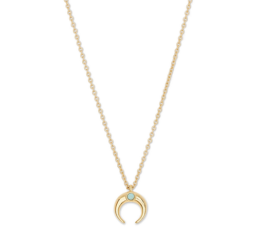 Gorjana Crescent Charm Adjustable Necklace