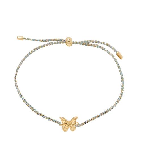 Gorjana Butterfly Charm Bracelet