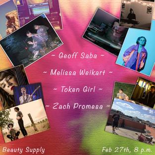 Geoff Saba/Mel Weikart/Token Girl/Zach Promesa