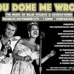 The Music of Billie Holiday & George Jones