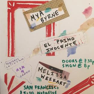 El Primo Inocente/Mya Byrne/Melissa Weikart