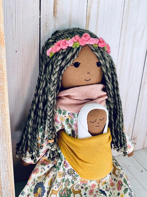 Rocio y Bebe Heirloom Doll
