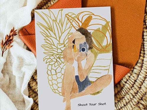 Shoot Your Shot- Tan