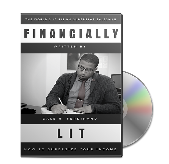 """Financially Lit: How to supersize your income """"Audio-Book"""""""