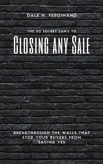 "The 20 Secret Laws to Closing Any Sale ""eBook"""