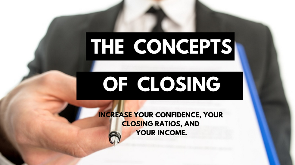 The Concepts Of Closing