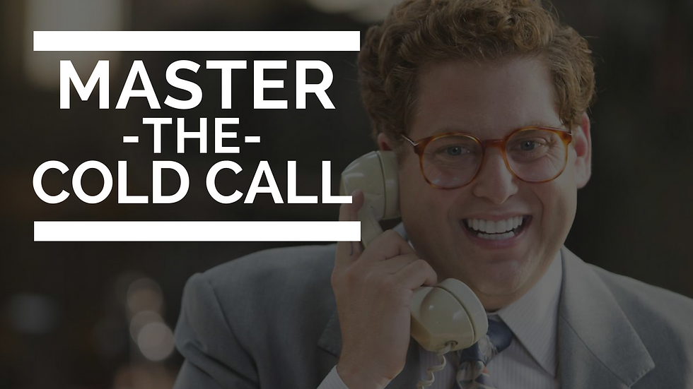 Master The Cold Call Training Course