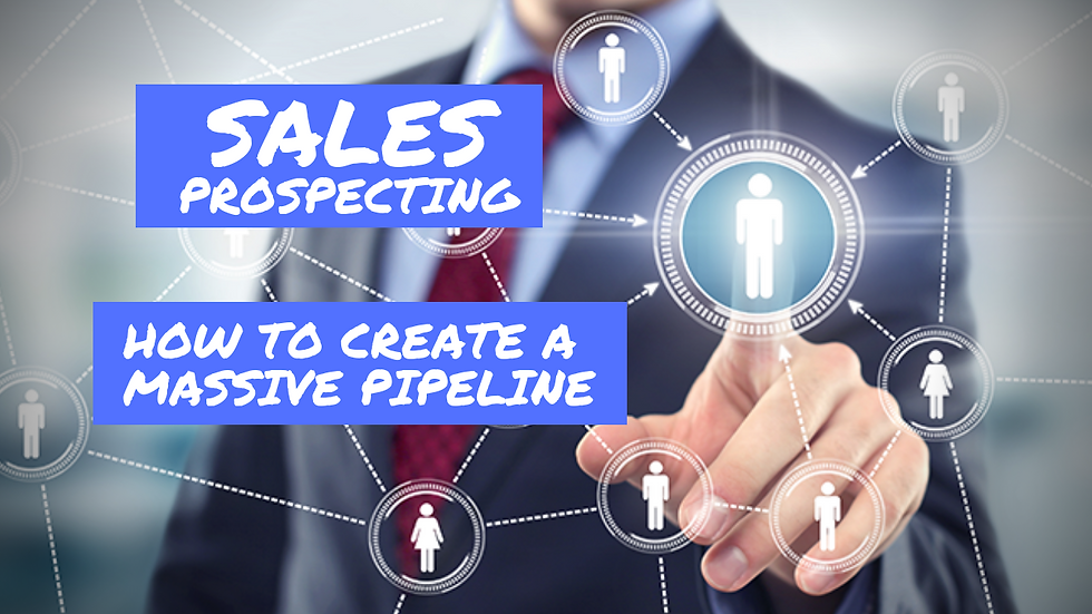 The Sales Prospecting System