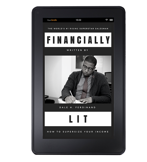 """Financially Lit: How to supersize your income """"eBook"""""""