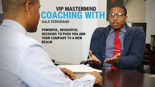 VIP Coaching With Dale Ferdinand