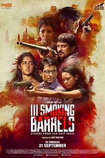 III Smoking Barrels Official poster