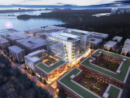 Peterson abre dos sitios de National Harbor a posibles oficinas centrales corporativas
