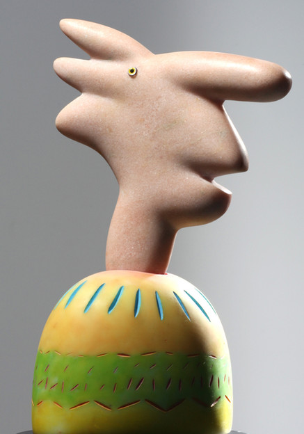 Pink Portuguese Head
