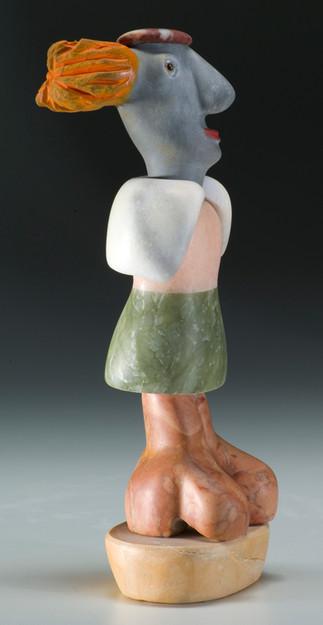 figurative marble sculpture