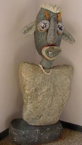 STONE HEAD, Granite, .jpg
