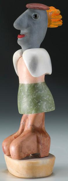 marble figure profile