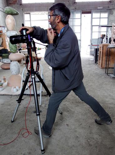 Benvenuto Saba, Photographer