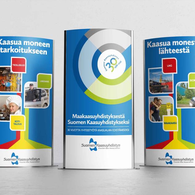 Suomen Kaasuyhdistys, roll-upit