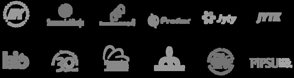 Graafinen suunnittelu logot