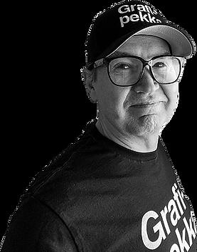Graafinen suunnittelija Ari-Pekka Maunuksela