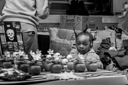 Little girl at the market