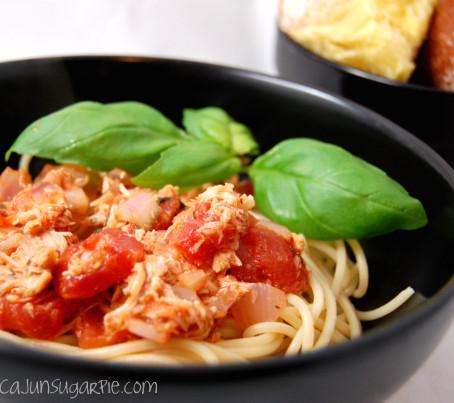 Diced Tomato Pasta Sauce