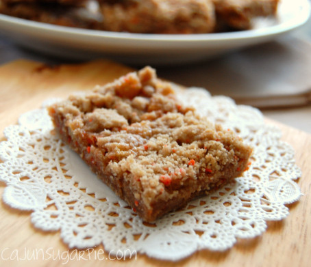 Carrot Apple Bars