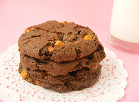 Butterscotch Chocolate Cake Mix Cookies