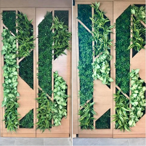 Denver Tech Center living wall